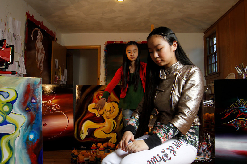 Meet Young artists, Victoria Yin & Zoe Yin #NoCriticsJustArtists